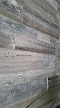Introducing our new Barnwood Grey prefab wall panels ...