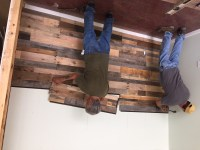 Easy Install Pallet Wood Wall - Sustainable Lumber Company
