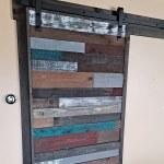 Pallet Wood Barn Door