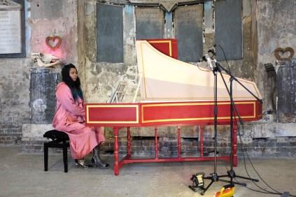 Harpsichord recital at The Asylum in Peckham