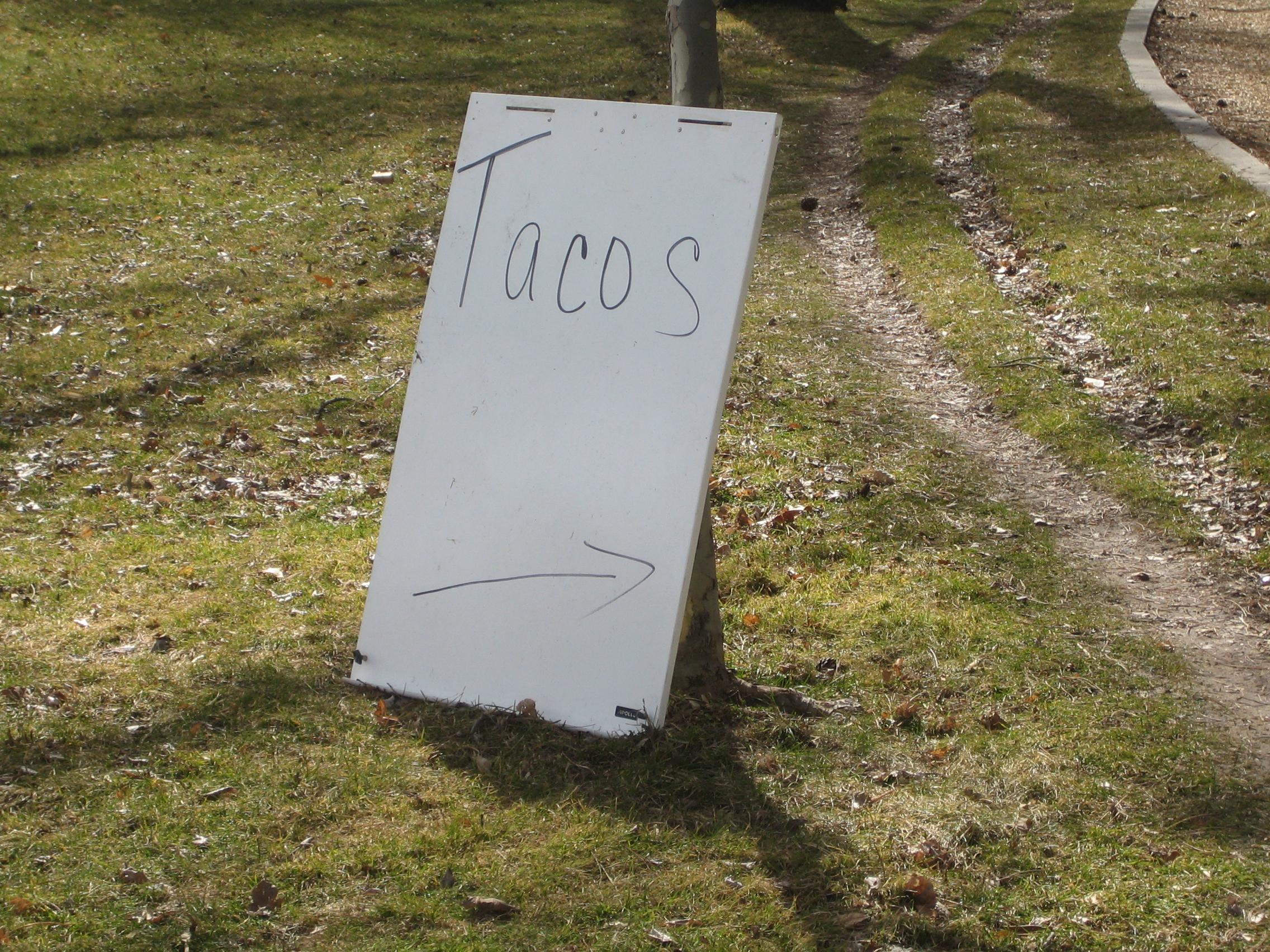 tacos you say?