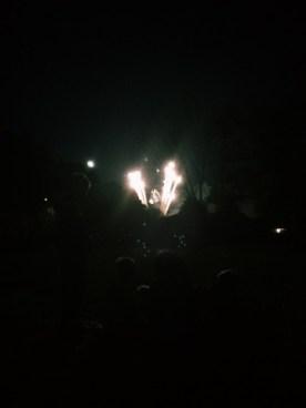 Fortville fireworks