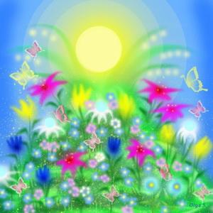 Сказочные цветы_новый размер