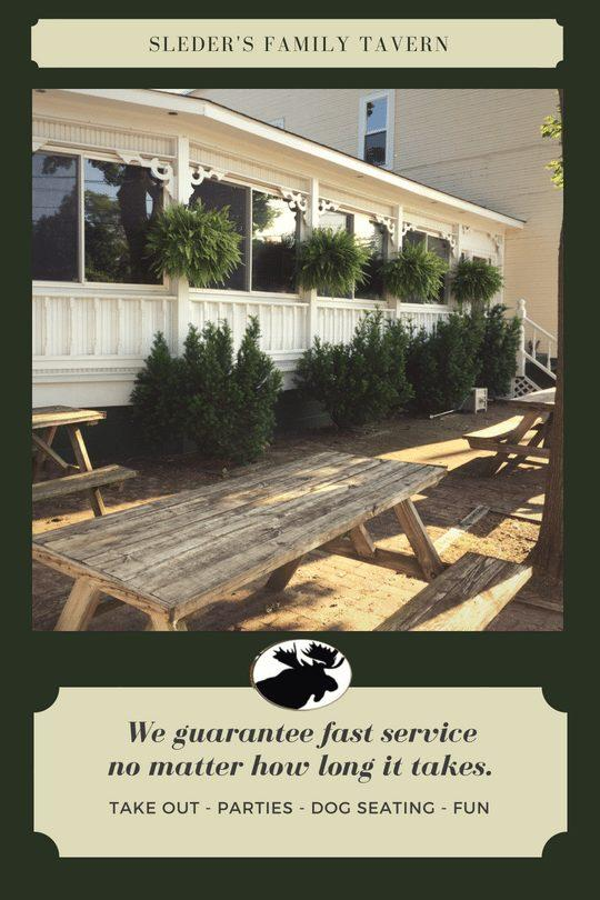 We guarantee fast service no matter how long it takes. Take Out, Parties, Dog Seating, Fun