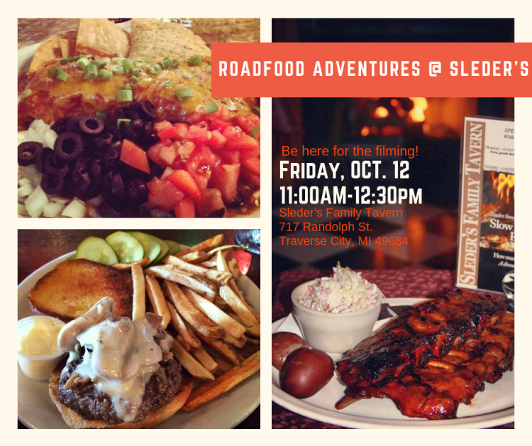 Roadfood Adventures at Sleders, Friday, Oct. 12, 2018 at 11:00 am.