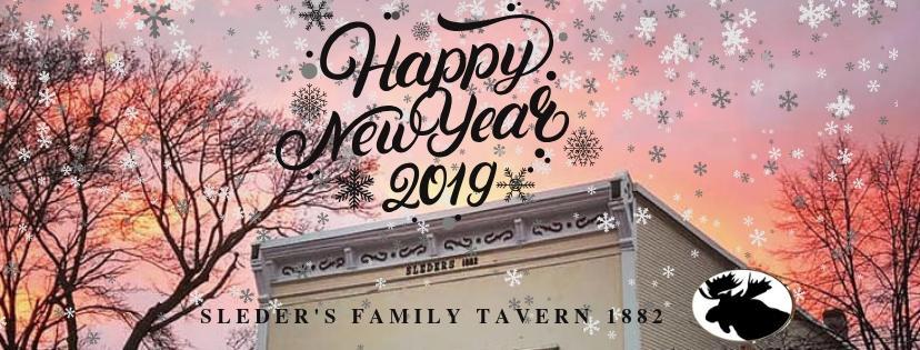 Sleder's Happy New Year 2019