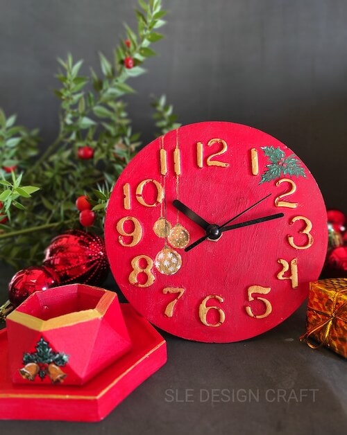 Yılbaşı Beton Saat