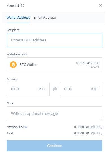 válasszon egy bitcoin pénztárcát