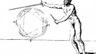 <p>In this third part of my wallowing in the cesspool of Agrippa's 1553 fencing text Trattato Di Scientia d' Arme, I want to examine the primary guards of Stance B and Stance D and try to understand the differences Agrippa makes between them. To me they seem like mirror images of each other in terms of function and Agrippa, too, treats themin this way.</p> <p>Again, I'd like to acknowledge that I'm a beginner and make no claim to the accuracy or utility of what follows. I'd love anyone who understands Agrippa to correct me.</p> <p>First, let's define some terms.  […]</p>