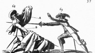 """<p>A factor which goes completely unrecognised by most practitioners as we struggle to revive the lost fighting arts of Medieval and Renaissance Europe is the differenced between """"sword fighting"""" and """"fencing"""". I'm going to try to explain the difference and show how knowing the difference shapes our practice. First, let's define the terms.</p> <p><strong>Sword Fighting</strong>: battlefield or martial swordplay skills answering the question """"what's the fastest way to put the other guy on the ground and move forward to the next target?"""" The focus here is on efficiency and economy of action in an environment where skill-at-arms meant life  […]</p>"""