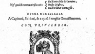 <p>At the end of Giovanni Dall'Agocchie's <strong>On The Art of Fencing</strong> (1572), there's a wonderful aside in which he explains the basics techniques he'd teach a complete fencing newbie who must fight a duel of honour in thirty days. In this post, I want to point out the similarities with the single sword system of Dall'Agocchie's contemporary, Joachim Meyer, whose <strong>Art of Combat</strong> (1570) includes an extensive chapter on use of the rapier.</p> <p>I can't summarise Dall'Agochhie's essential actions better than has already been done by Steve Reich (Nova Assalto).</p> <p>Dall'Agocchie proposes to teach the prospective duellist only one of  […]</p>
