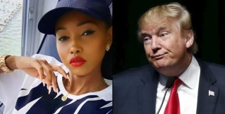 Huddah Monroe reacts to new US immigration policy