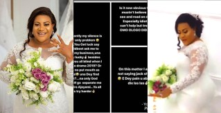 Actress Nkechi Blessing Sunday Says She Is Not A Snitch, Shares Bridal Photos+Video