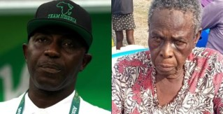 I don't know why they keep kidnapping me - Samson Siasia's mother weeps after her release