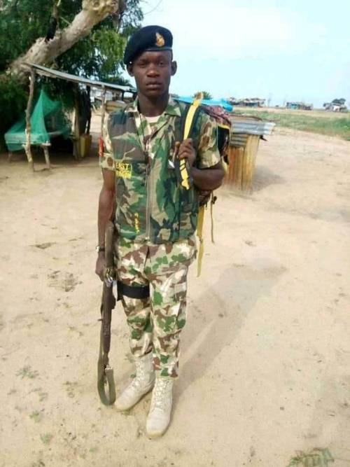 Newly married soldier murdered by military colleague while talking to his wife in Borno
