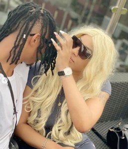 Photos: Face and identity of actress Angela Okorie's new husband-to-be revealed