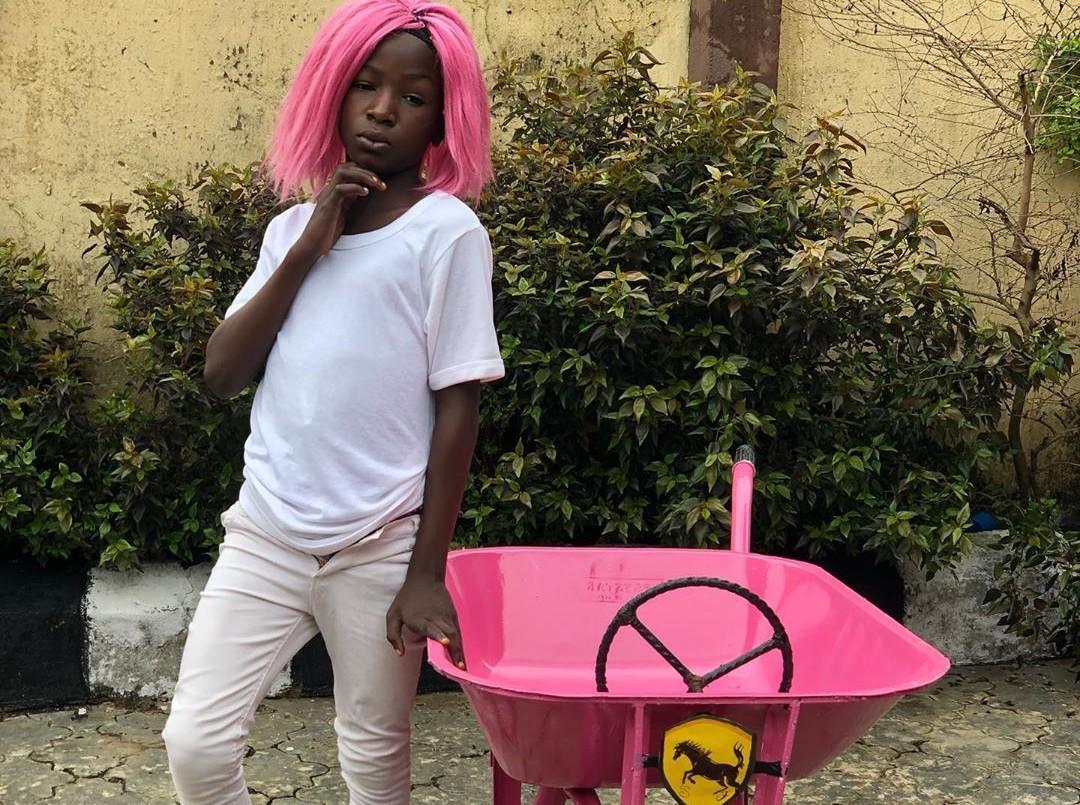 Ikorodu Bois Recreate DJ Cuppy And Sister's Ferarri Whips