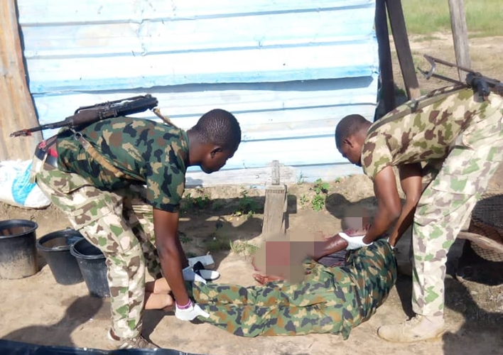 Nigerian Soldier Commits Suicide After Leaving a Note to His Wife