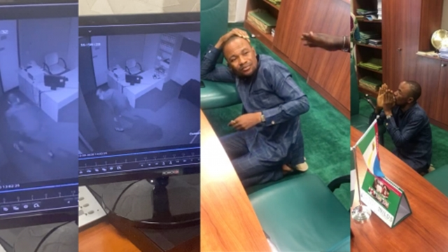 BREAKING: Thief Breaks Into Lawmaker's Office Inside National Assembly Complex, Steals US Dollars, Office Equipment