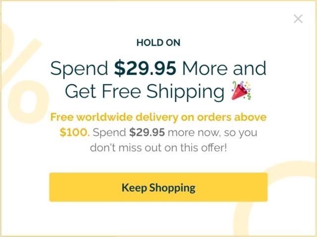 SiteData contextuel de vente incitative