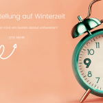 Zeitumstellung auf Winterzeit