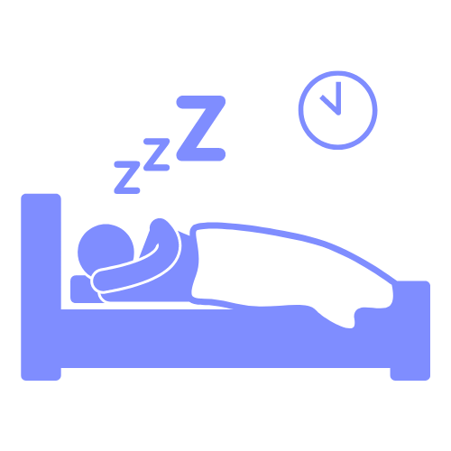 Person Sleeping Clip Art Light Blue with arm
