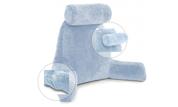 bed rest pillow for reading in bed 2021
