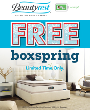 Free Box Spring Event Means Now Is The Time To Buy Sleep