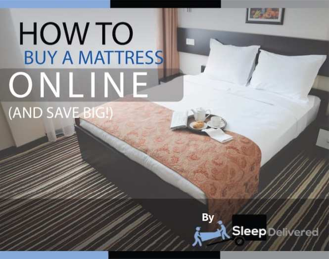 How To A Mattress Online Infographic