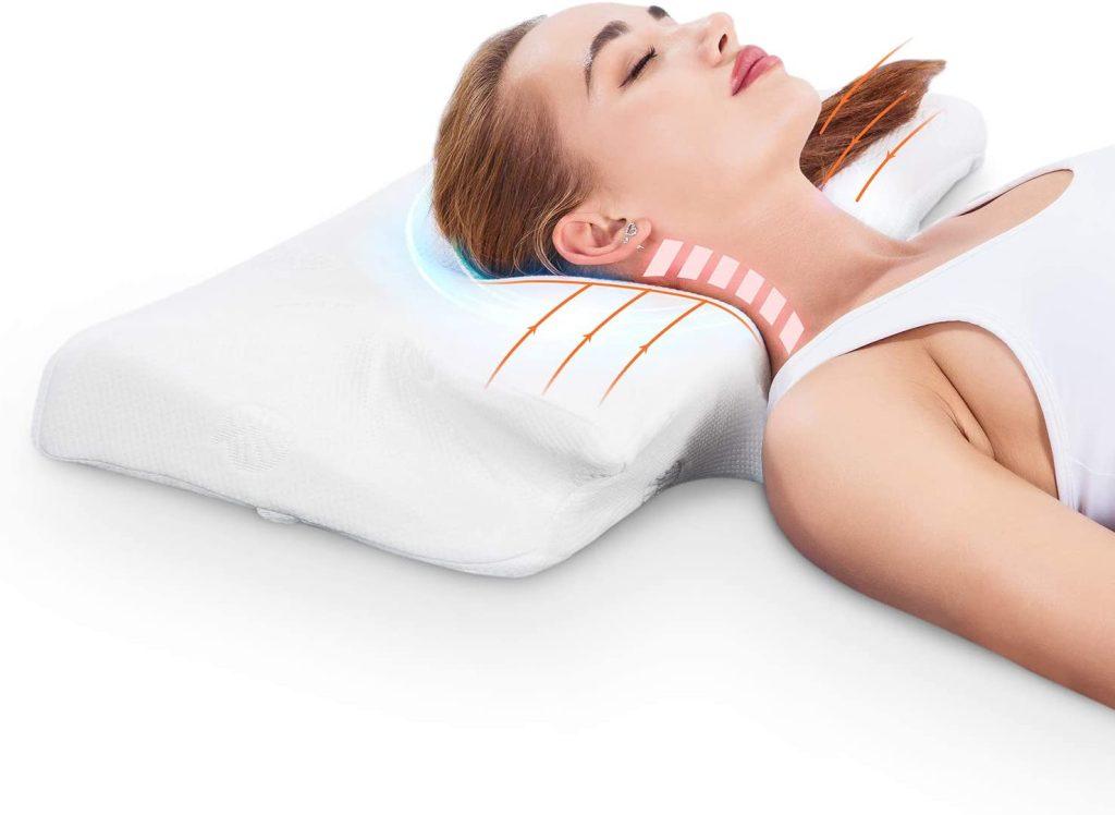 MARNUR Cervical Contour Memory Foam Pillow