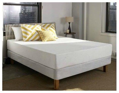 sleep innovations 10inch memory foam mattress