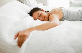 Good night sleep as a result of sleeping on the best mattress for insomnia