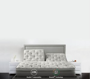 Sleep number bed to prevent snoring