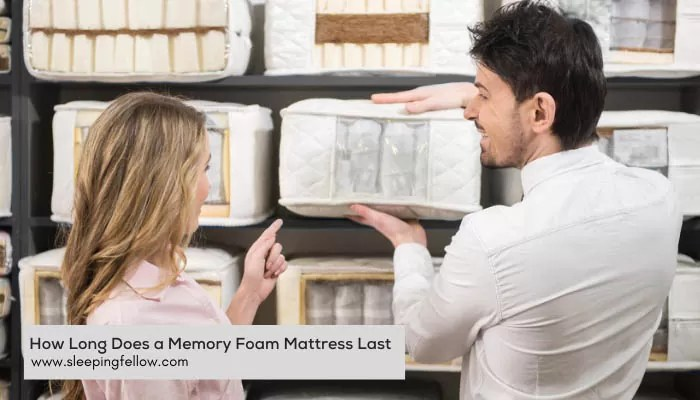 how long does a memory foam mattress last