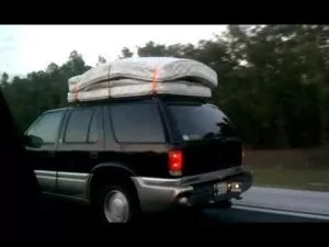 What You Need To Tie A Mattress To A Car Roof Rack