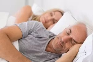 Touching your sleeping partner