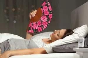 bedroom too hot stuffy