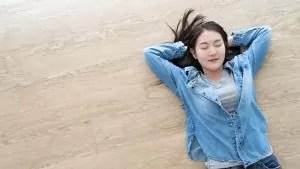 japanese sleep on floor