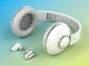 Choose wireless headphones over cabled headphones