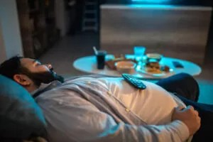 Sleeping Can Store Fats In You