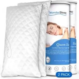 Wonder sleep bamboo pillow