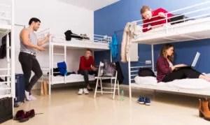 sleep college dorm
