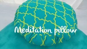 Cleaning meditation pillows