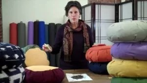 why are meditation pillows filled with buckwheat