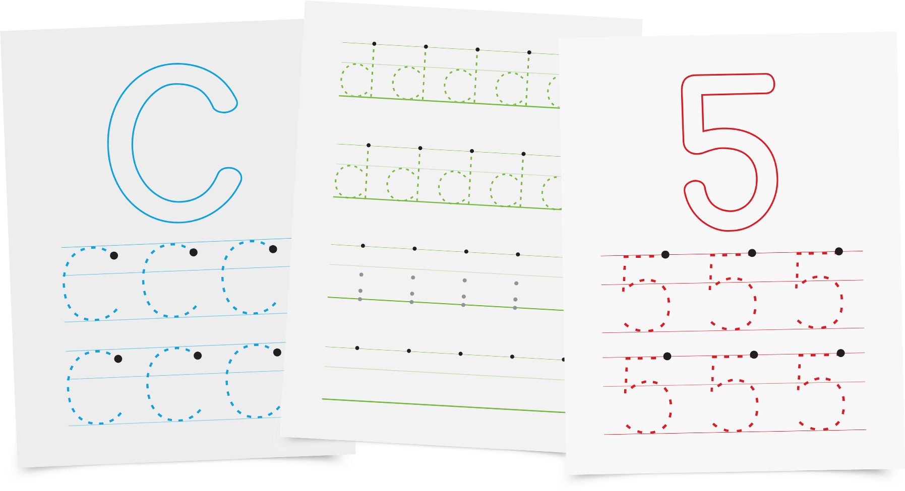 Letters And Numbers A Handwriting Workbook For Toddlers