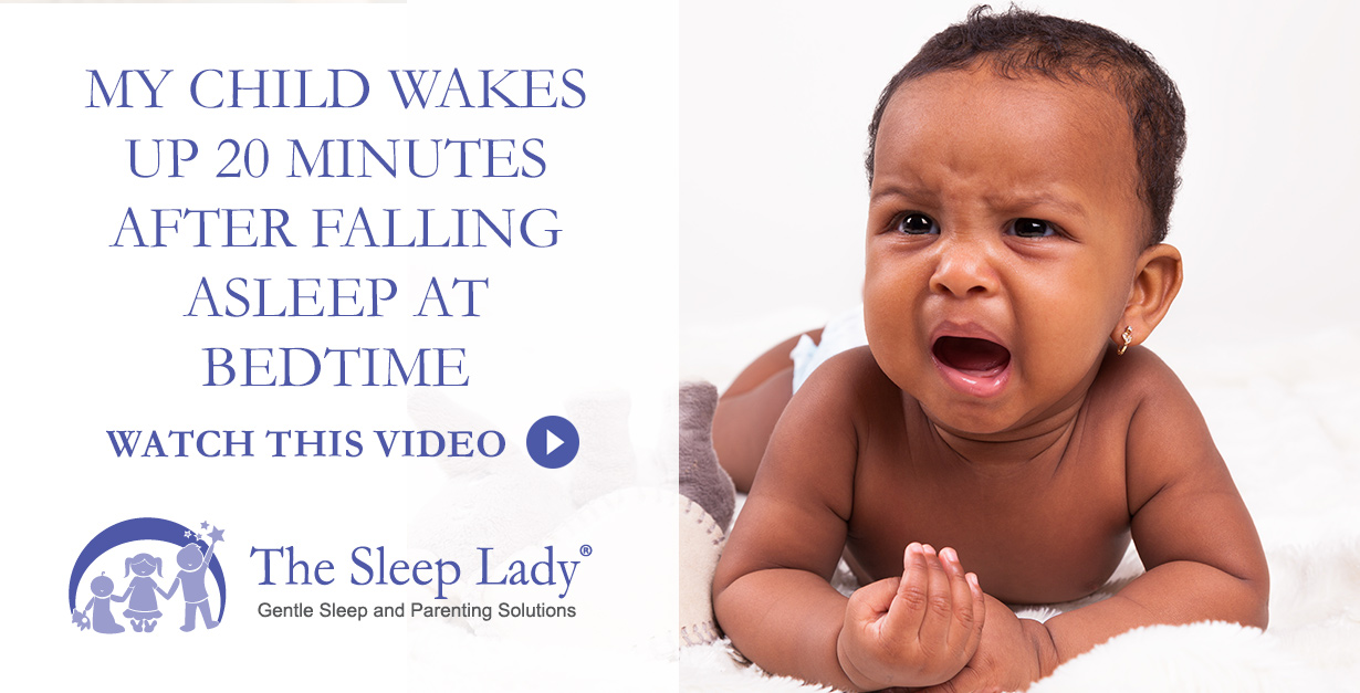 child wakes up