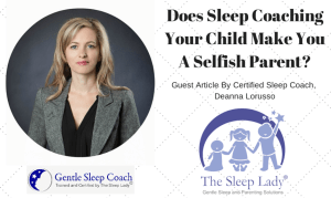 Does Sleep Coaching Your Child Make You