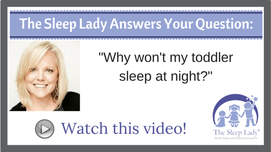 Question of the week-toddler sleep