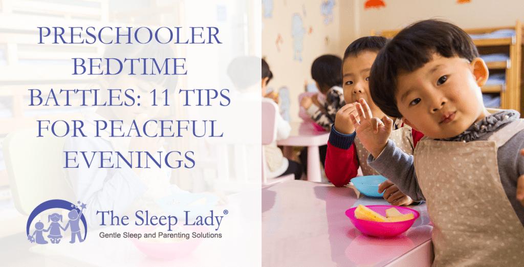 preschooler bedtime battles