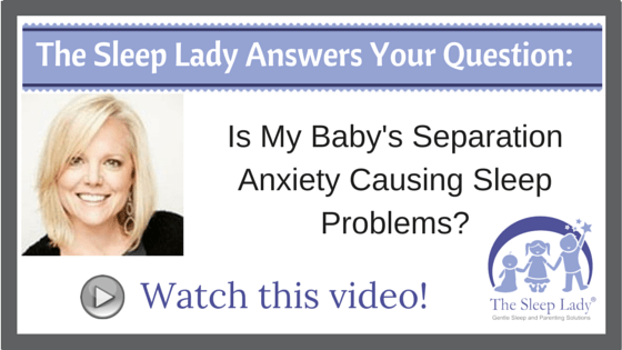 Is My Baby's Separation Anxiety Causing Sleep Problems?
